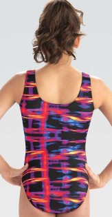 gk elite e3757 flash of fire gymnastics leotard center back