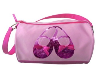 horizon 3401 satin and sequins ballet  duffel