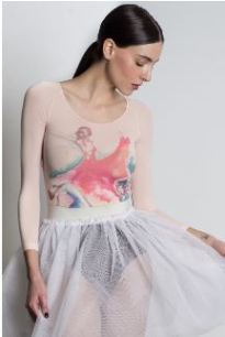 amb design isad14 isadora watercolor dance class long sleeve top