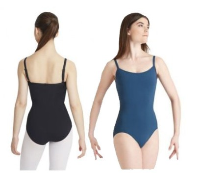capezio mc110 meryl collection camisole leotard with bratek color swatch