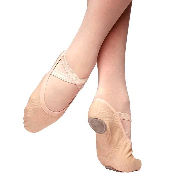 99a72514f38e russian pointe vivante canvas stretch ballet shoe