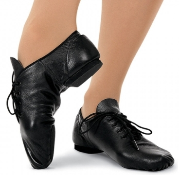 capezio ej1 jazz oxford split sole lace up jazz shoe