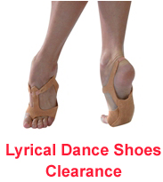 Lyrical Dance Shoes Clearance