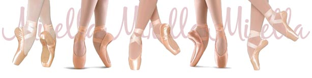 mirella pointe shoes