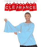 Eurotard 13730 Unisex Angel Sleeve Blouse - CLEARANCE