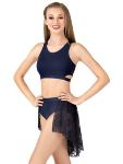 body wrappers lc9111 adult lace pull-on bustle skirt