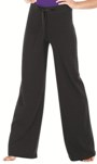 eurotard 46435 adult cotton wide leg pants with drawstring