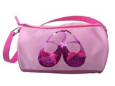 horizon dance 3401 satin & sequins ballet shoes duffel