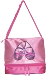 Horizon Dance 3402 Satin & Sequins Ballet Shoes Gear Tote