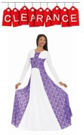 eurotard 13841 victorian lace princess seam praise dress with piping detail