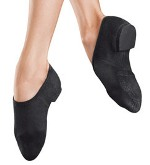 bloch s0473g girls phantom stretch canvass jazz shoe
