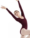 bloch l5409 basic long sleeve leotard leotard