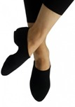 capezio pp17 eos stretch canvas jazz shoe