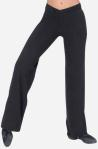 "Eurotard 46655 Adult Cotton / Lycra  ""V"" Front Jazz Pants"