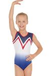 eurotard 3211 child patriotic ombre  leotard,eu 3211,gymnastics leotard