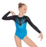eurotard 3220c child super nova long sleeve  leotard,eu 3220c