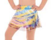 eurotard 31918 child pastel skort, eu 31918,eurotard 31918