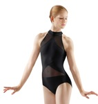 bloch im101 sheer panel leotard