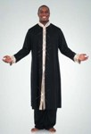 body wrappers m633 stained glass mens praise robe