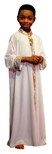 body wrappers b633 stained glass boys praise robe