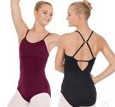 eurotard 44822c child tactel microfiber adjustable convertible racerback leotard