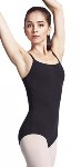 bloch l3910 ladies cotton adjustable strap leotard