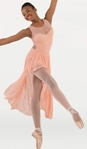 body wrappers p1094 tiler peck wavy lines mesh dance dress