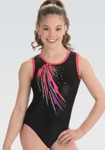 gk elite 10504 dramatic escape gymnastics leotard