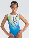 gk elite 10506 floating waves gymnastics leotard