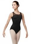 bloch l7725 laguna high back tank sleeve leotard