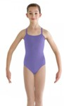 bloch cl3910 childrens kiann cotton adjustable strap camisole leotard