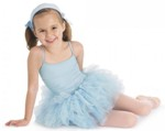 bloch cl7127 girls glacier camisole tutu dress