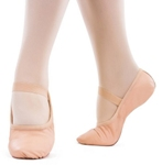 so danca sd69l adult premium leather ballet slipper