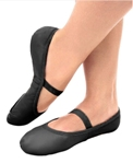 so danca sd70s child stretch leather ballet slipper