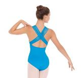 eurotard 4493 adult lattice back leotard