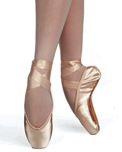 russian pointe entrada pro pointe shoes u-cut with draw string