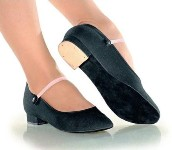 "so danca ro01 canvas 1"" heel royal character  shoe"
