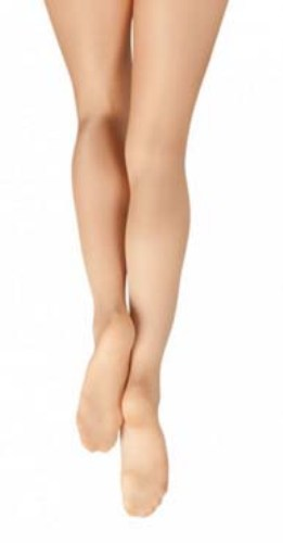 Large Light Toast Capezio Womens Ultra Shimmery Tight