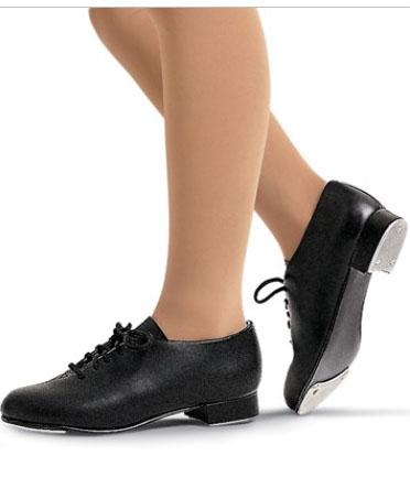 Capezio Kids Tic Tap Toe Tap Shoe Black