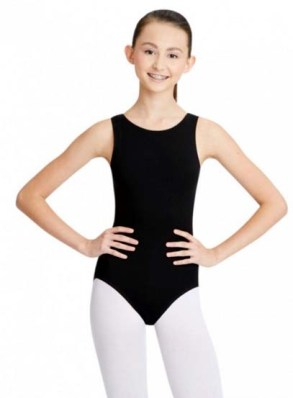 capezio cc201 classic high neck tank leotard