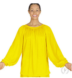 Eurotard 13673 Unisex Long Sleeve Peasant Style Blouse - CLEARANCE