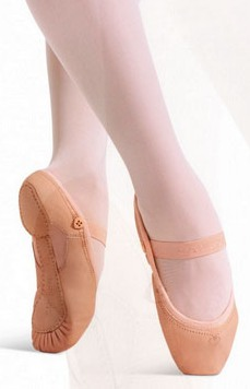 capezio 2035 love childrens split sole leather ballet shoe
