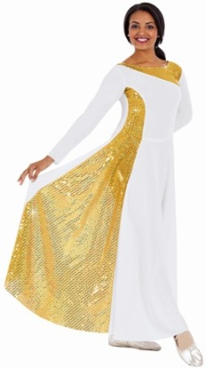 eurotard 42867 diamond glory praise dress