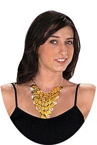 Eurotard 86924 Belly Dance Coin Necklace