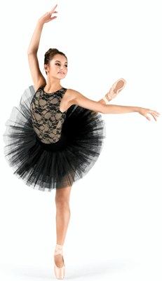 capezio 10391 adult 7 layered practice tutu