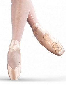 capezio 1132 airess pointe shoes broad toe maxifirm # 7.5 shank