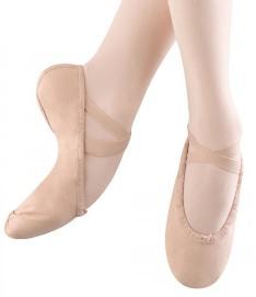 bloch s0277g girls pump split sole