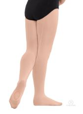 eurotard 219c euroskins child mesh convertible back seam tights