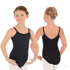 eurotard 44822c child cotton lycra convertible camisole leotard