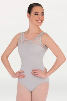 body wrappers p221 adult tank lace bodice leotard